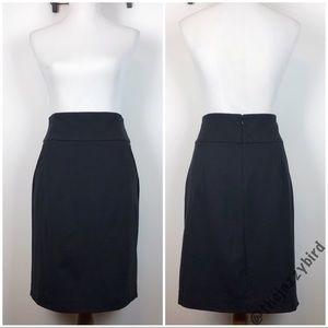 Cabi Black Stretchy Pencil Skirt